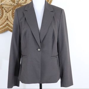 Banana Republic Factory brown career blazer